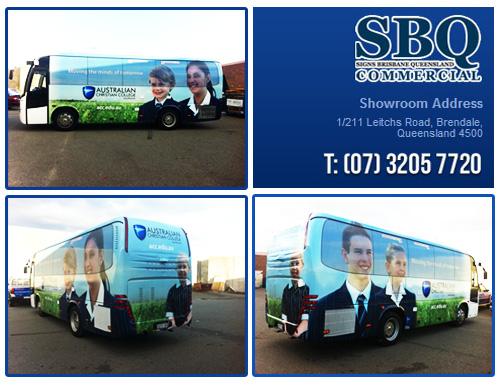 digital printing brisbane, banner printing, bus wrapping, vehicle graphics, printing company brisbane