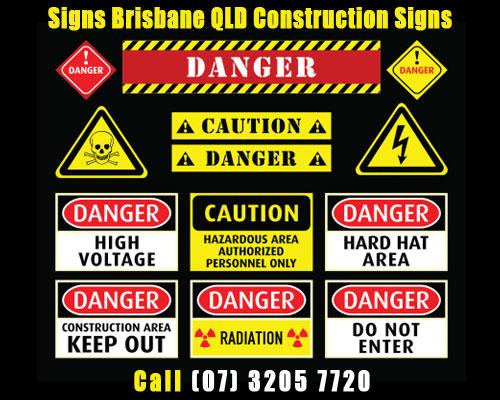 construction sign, warning sign, printing company brisbane, sign company